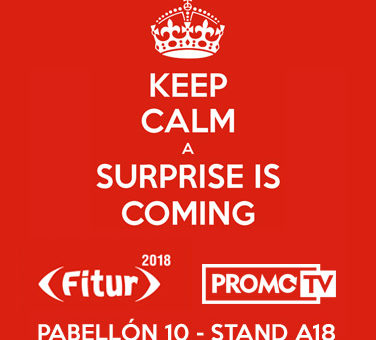 Keep Calm, a Surprise is Coming @ FITUR 2018